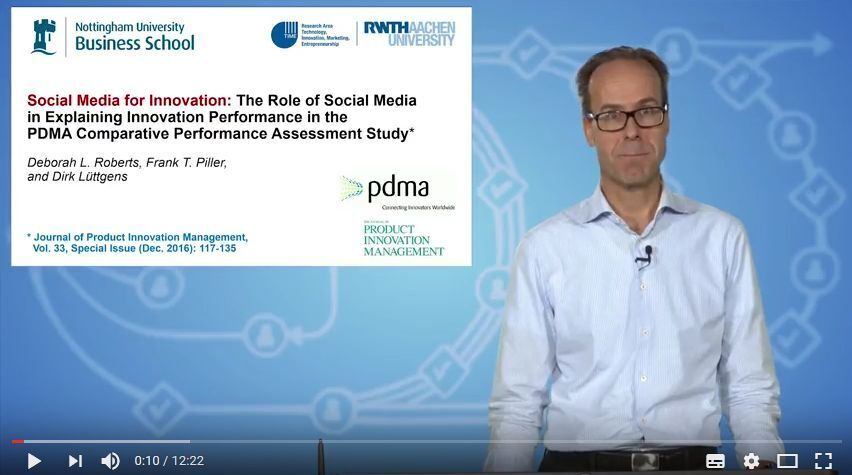 The Impact of Social Media for Innovation